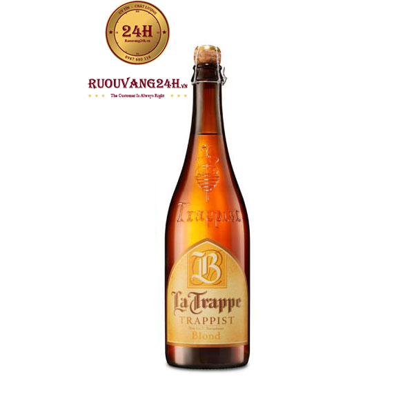 Bia La Trappe Blond 750ML – Bia Hà lan Nhập Khẩu