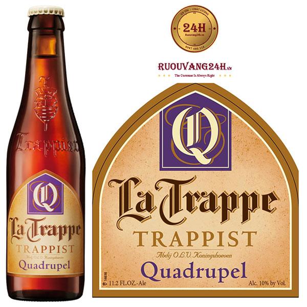 Bia La Trappe Quadrupel 330ML