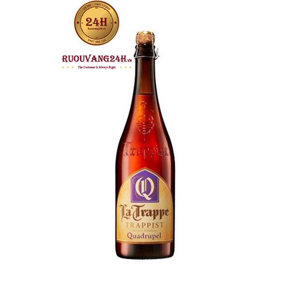 Bia La Trappe Quadrupel 750ml – Bia Hà Lan