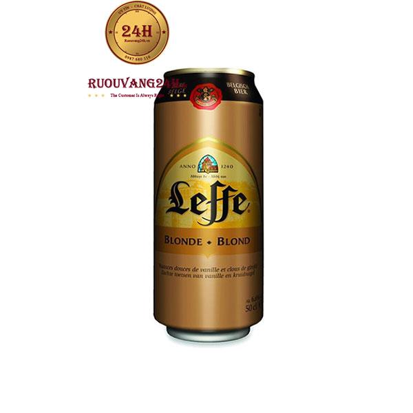 Bia Lon Leffe Vàng 6,6 Độ – NHập Khẩu Bỉ