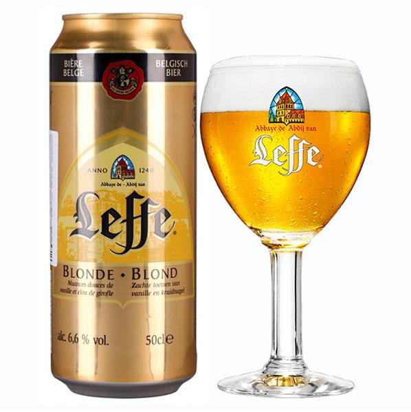 Bia Lon Leffe Vàng