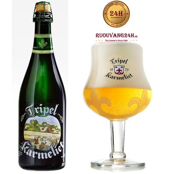 Bia Tripel Karmeliet 750ML