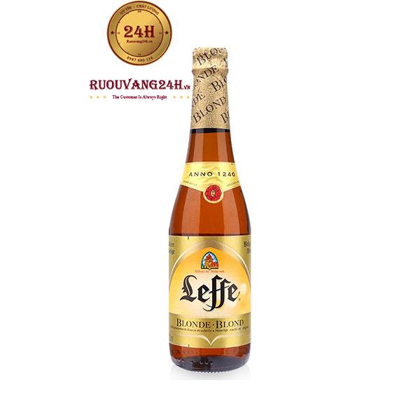 Bia Leffe Vàng 6,6 độ – Nhập Khẩu Bỉ