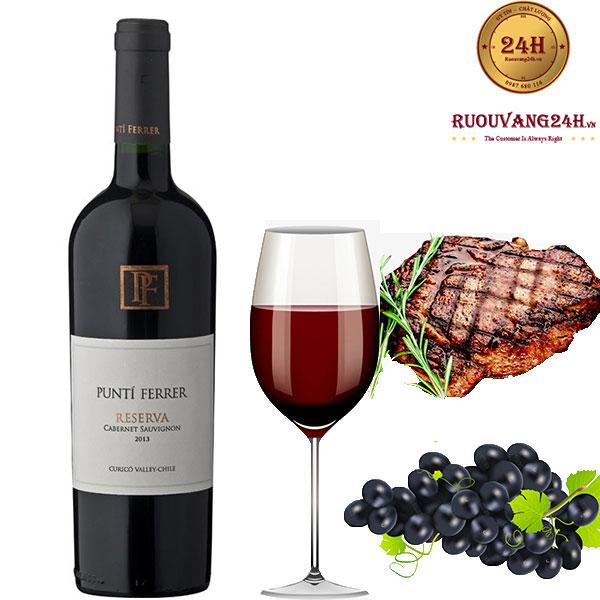Rượu Vang Punti Ferrer Reserva Cabernet Sauvignon
