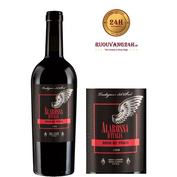 Rượu vang Alarossa D'italia 3