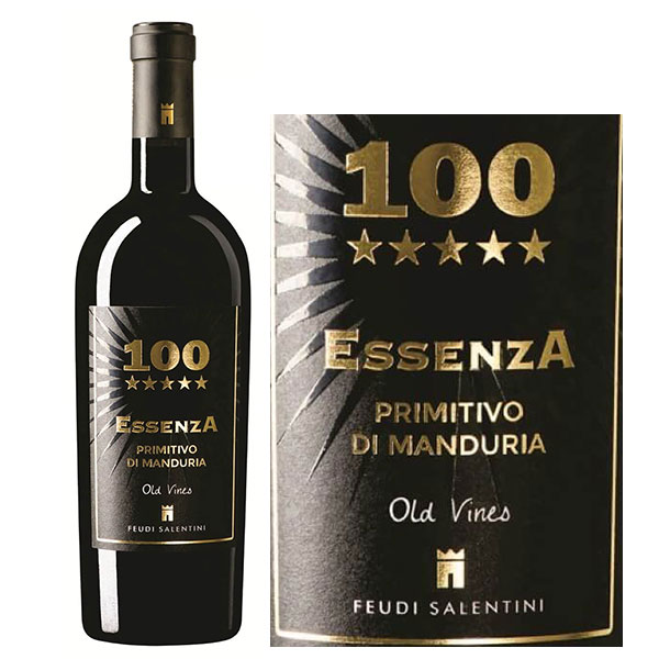 Rượu Vang 100 ESSENZA Primitivo
