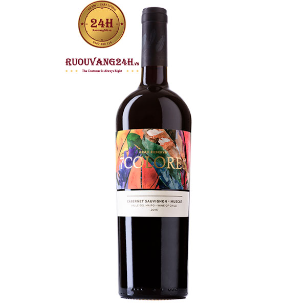 Rượu Vang 7Colores Gran Reserva Cabernet Sauvignon