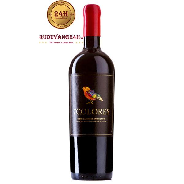 Rượu Vang 7Colores Icon Cabernet Sauvignon – Giá Sale