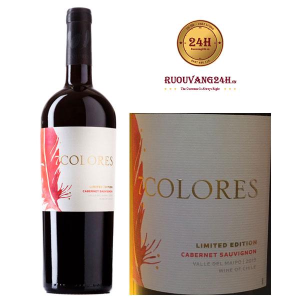 Rượu Vang 7Colores Limited Edition Cabernet Sauvignon