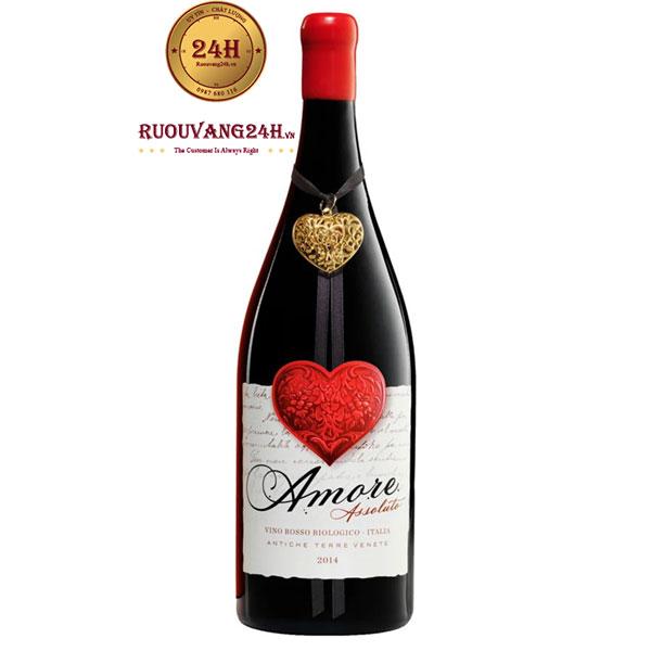 Rượu Vang Amore Assoluto Vino Rosso Biologico