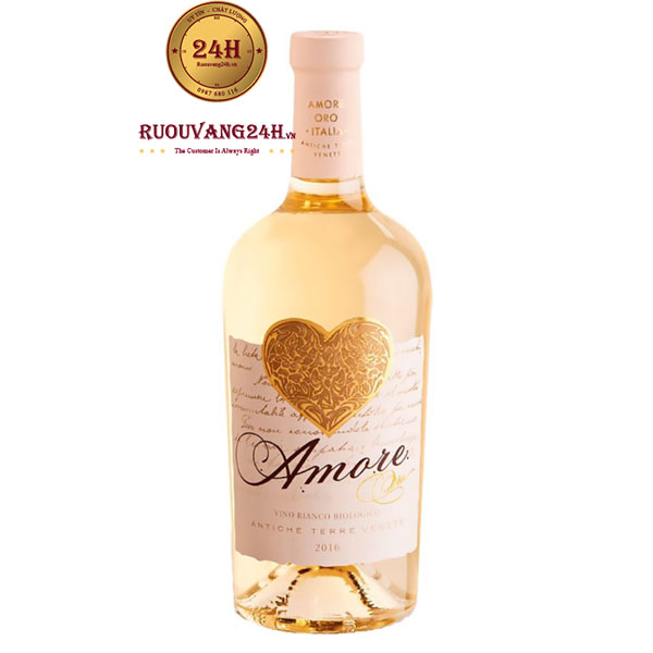 Rượu Vang Amore ORO Vino Bianco Biologico
