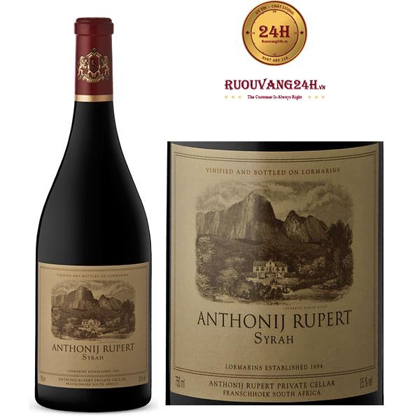 Rượu Vang Anthony Rupert Syrah