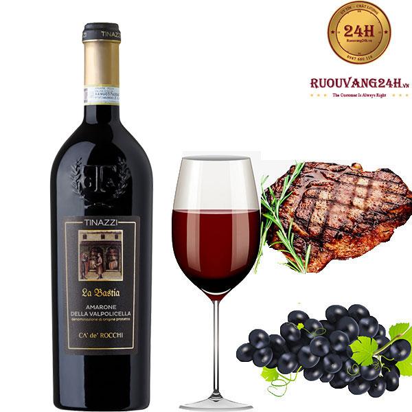 Rượu Vang TINAZZI La Bastia Armarone
