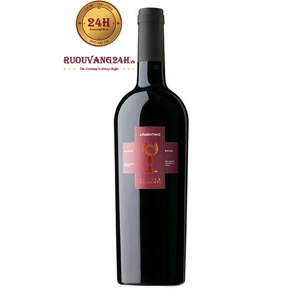 Rượu Vang Armentino Rosso Salento – Vang Ý Chén Thánh Đỏ
