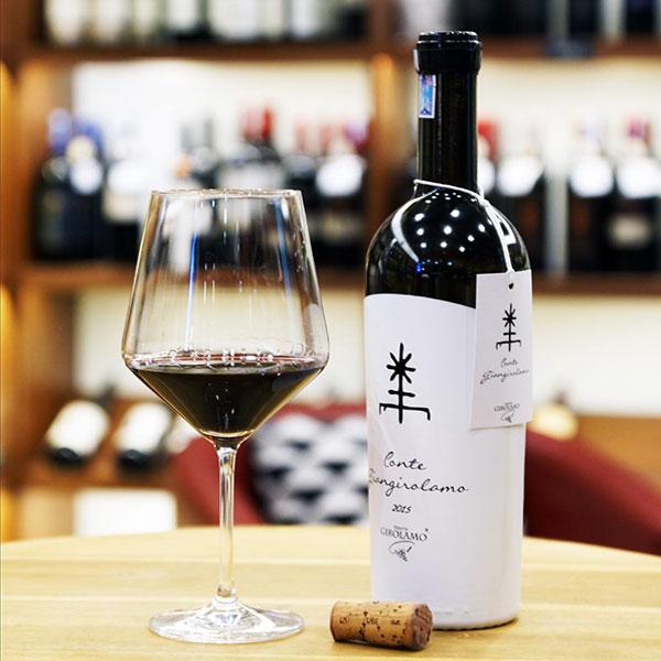 Rượu Vang Bá Tước Conte Giangirolamo