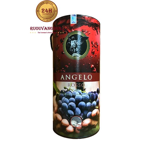 Rượu Vang Bịch Angelo Rosso