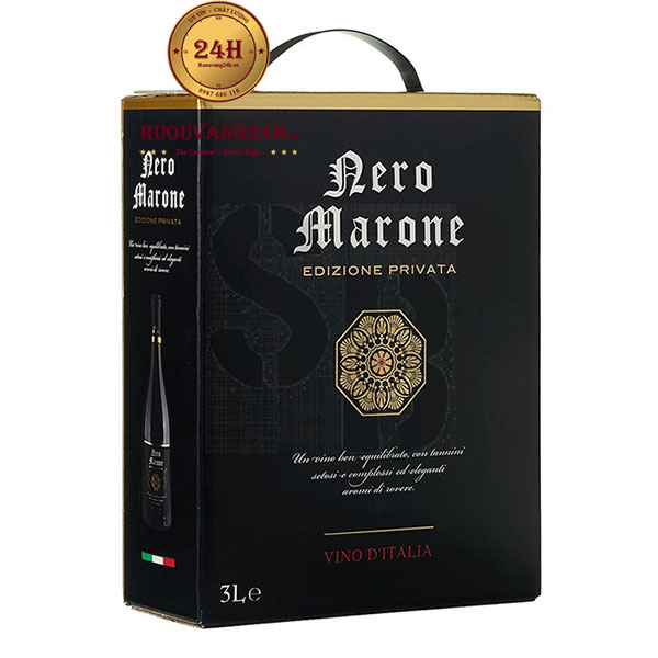 Rượu Vang Bịch Ý Nero Marone Edizione Privata