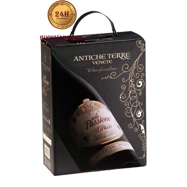 Rượu Vang Bịch Solo Passione Antiche Terre Venete
