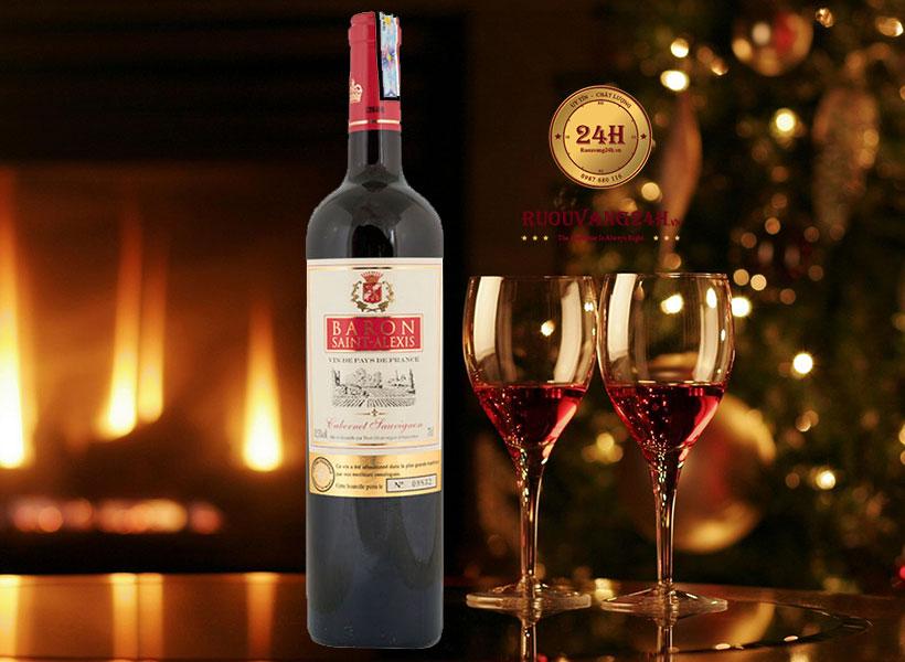 Rượu Vang Baron Saint Alexis