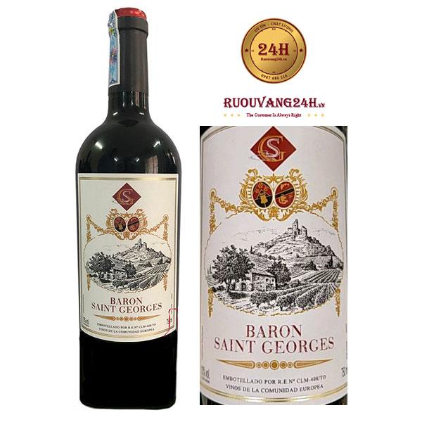Rượu Vang Baron Saint Geoges