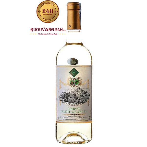 Rượu Vang Baron Saint Georges White