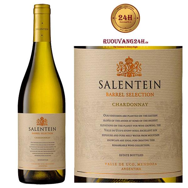 Rượu Vang Barrel Selection Chardonnay