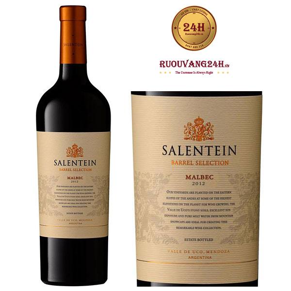 Rượu Vang Barrel Selection Malbec