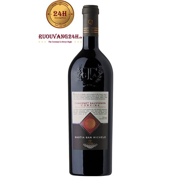 Rượu Vang Bastia San Michelle Corvina Cabernet Sauvignon