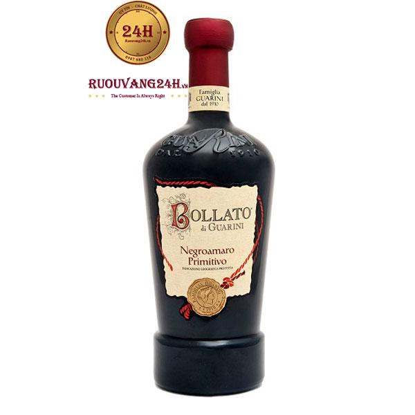 Rượu Vang Bollato Di Guarini Negroamaro Primitivo