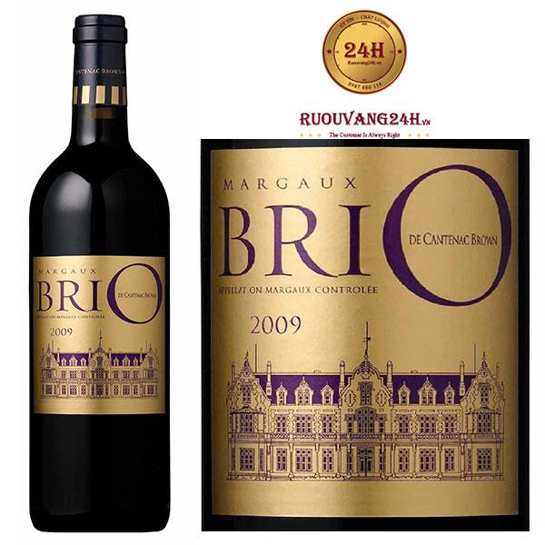 Rượu Vang Brio De Cantenac Brown