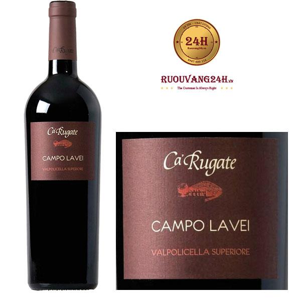 Rượu Vang Ca' Rugate Campo Lavei
