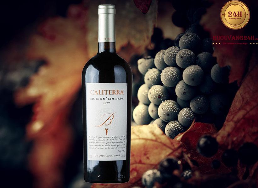 Rượu Vang Caliterra Edicion Limitada A