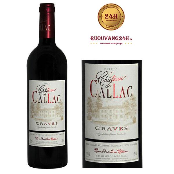 Rượu Vang Chateau De Callac Graves