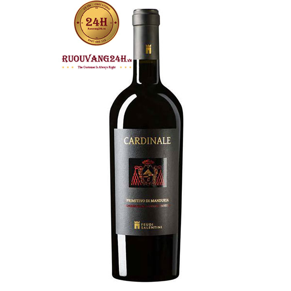 Rượu Vang CARDINALE Primitivo Di Manduria