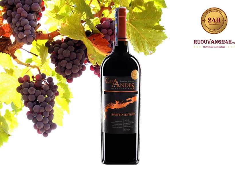 Rượu Vang Cas Andes Limited