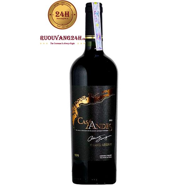 Rượu Vang Cas Andes Reserve Cabernet Sauvignon