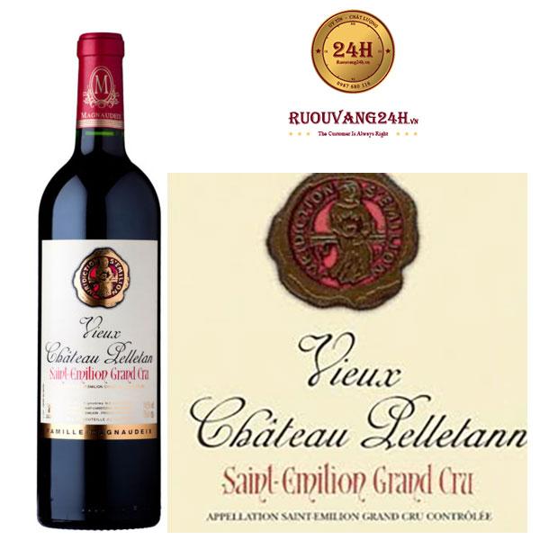 Rượu Vang Château Vieux Pelletan Grand Cru