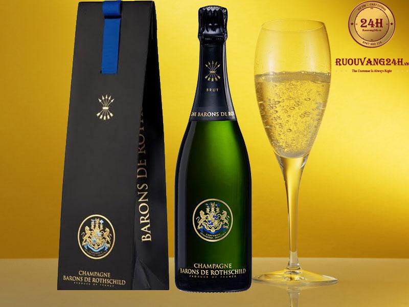 Rượu Champagne Barons De Rothschild