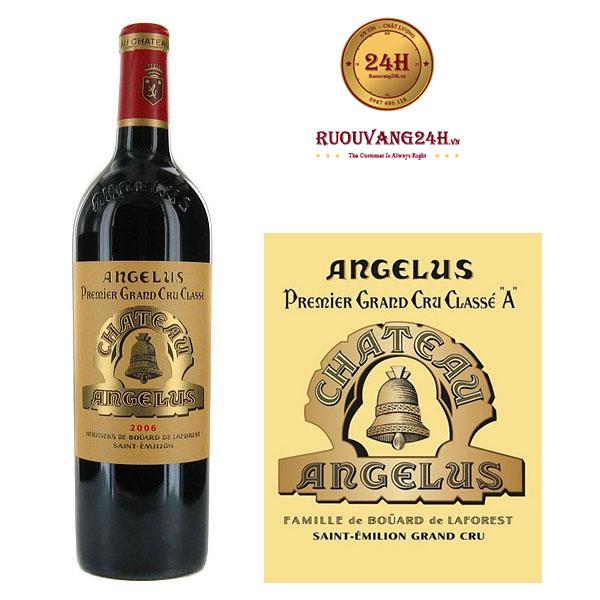 Rượu Vang Chateau Angelus Saint - Emilion Grand Cru