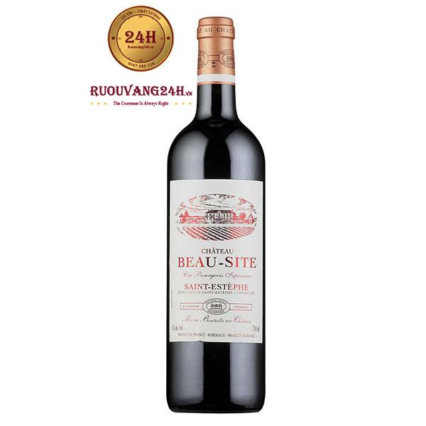Rượu Vang Chateau Beau-Site Cru Bourgeois Superieur