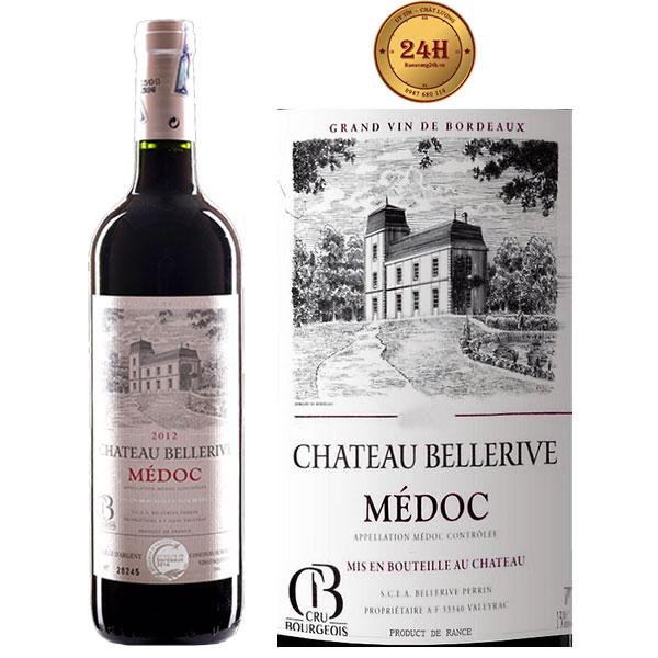 Rượu Vang Chateau Bellerive Medoc
