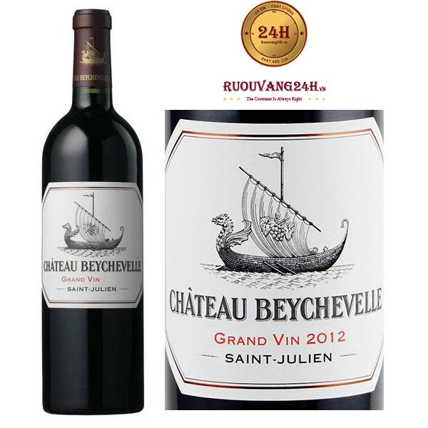 Rượu Vang Chateau Beychevelle 2012