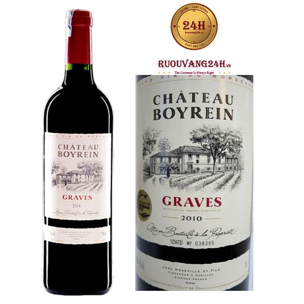 Rượu Vang Chateau Boyrein