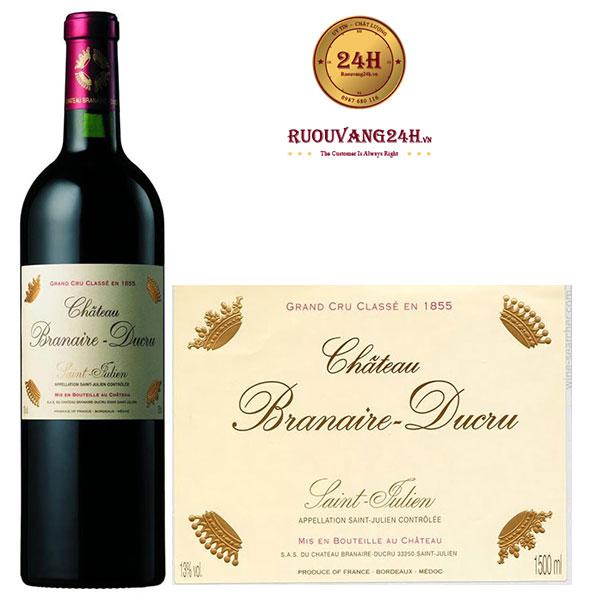 Rượu Vang Chateau Branaire – Ducru