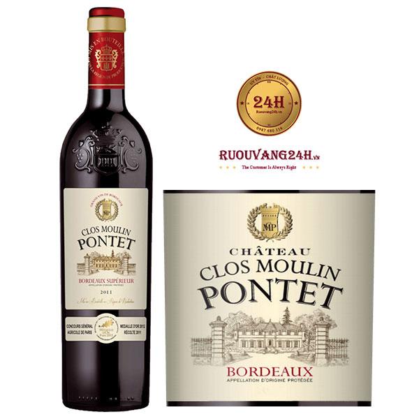 Rượu Vang Chateau Clos Moulin Pontet