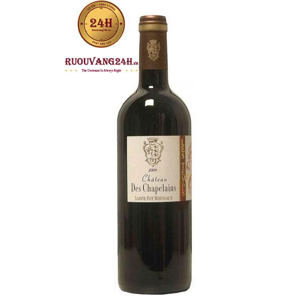 Rượu Vang Chateau Des Chapelains
