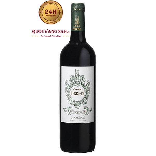 Rượu Vang Chateau Ferriere Margaux