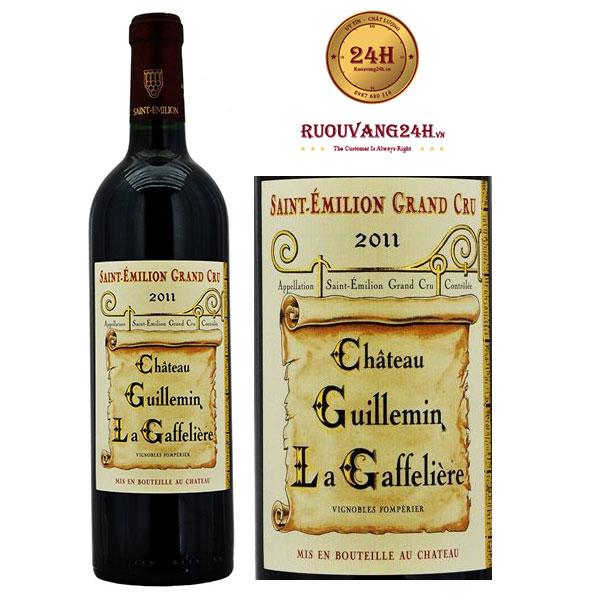 Rượu Vang Chateau Guillemin La Gaffeliere