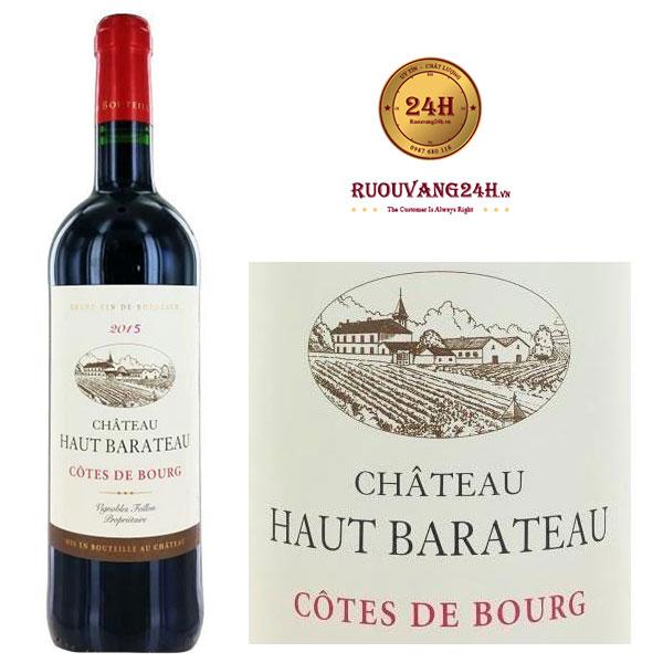 Rượu Vang Chateau Haut – Barateau