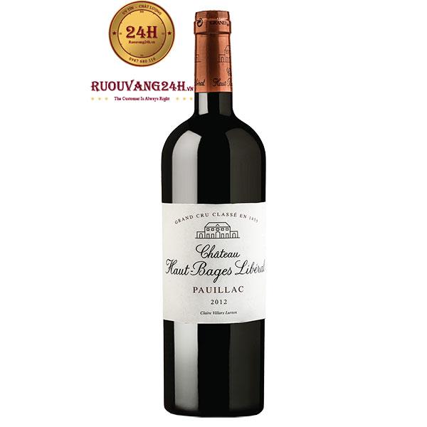 Rượu Vang Chateau Haut – Bages Liberal